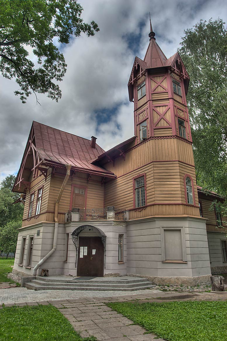 Kugusheva Mansion (1896), now Kustodiyev Art...Kamennyi Ostrov. St.Petersburg, Russia