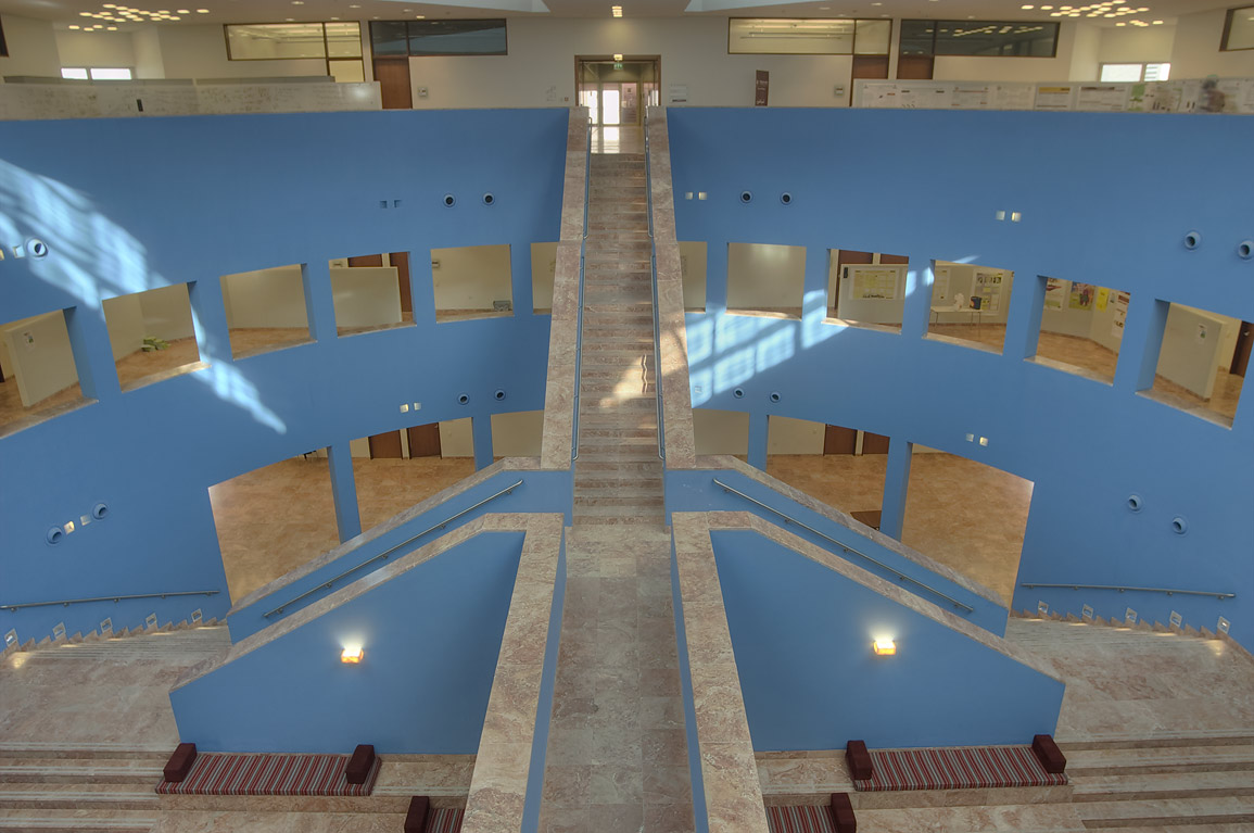 Interior of TAMUQ research area (Texas A&M...in Education City campus. Doha, Qatar