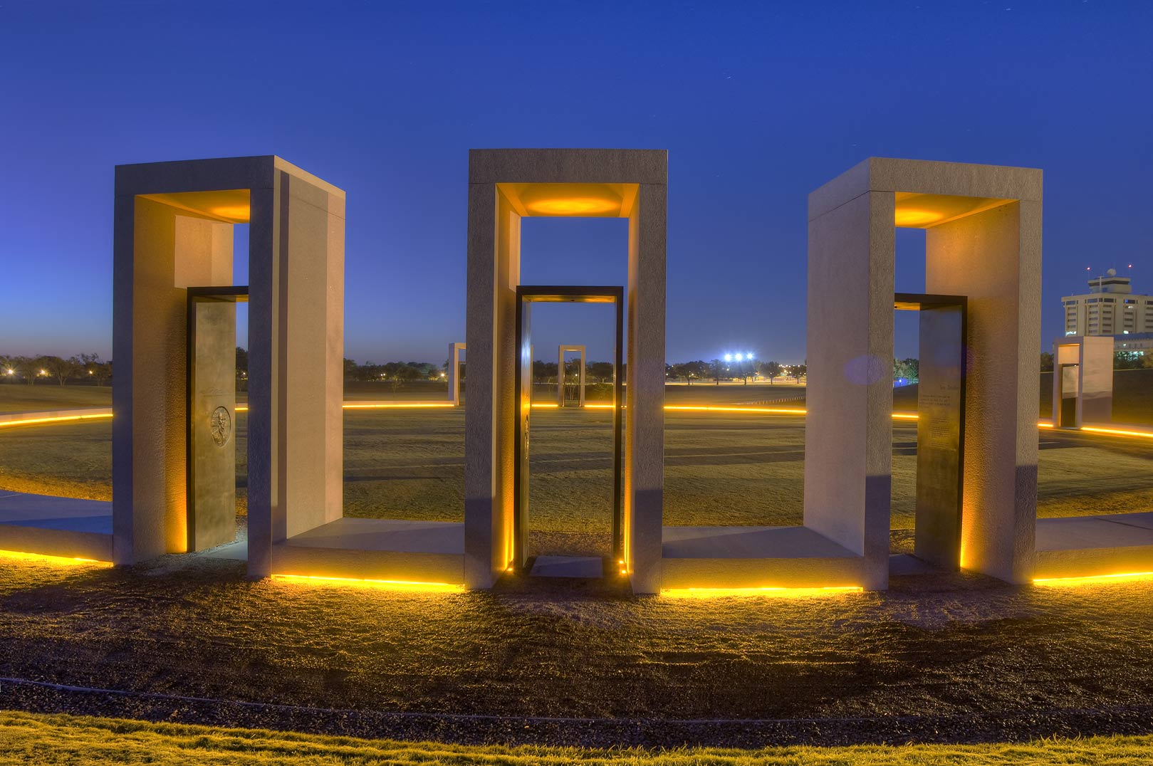 Bonfire Memorial on campus of Texas A&M University. College Station, Texas
