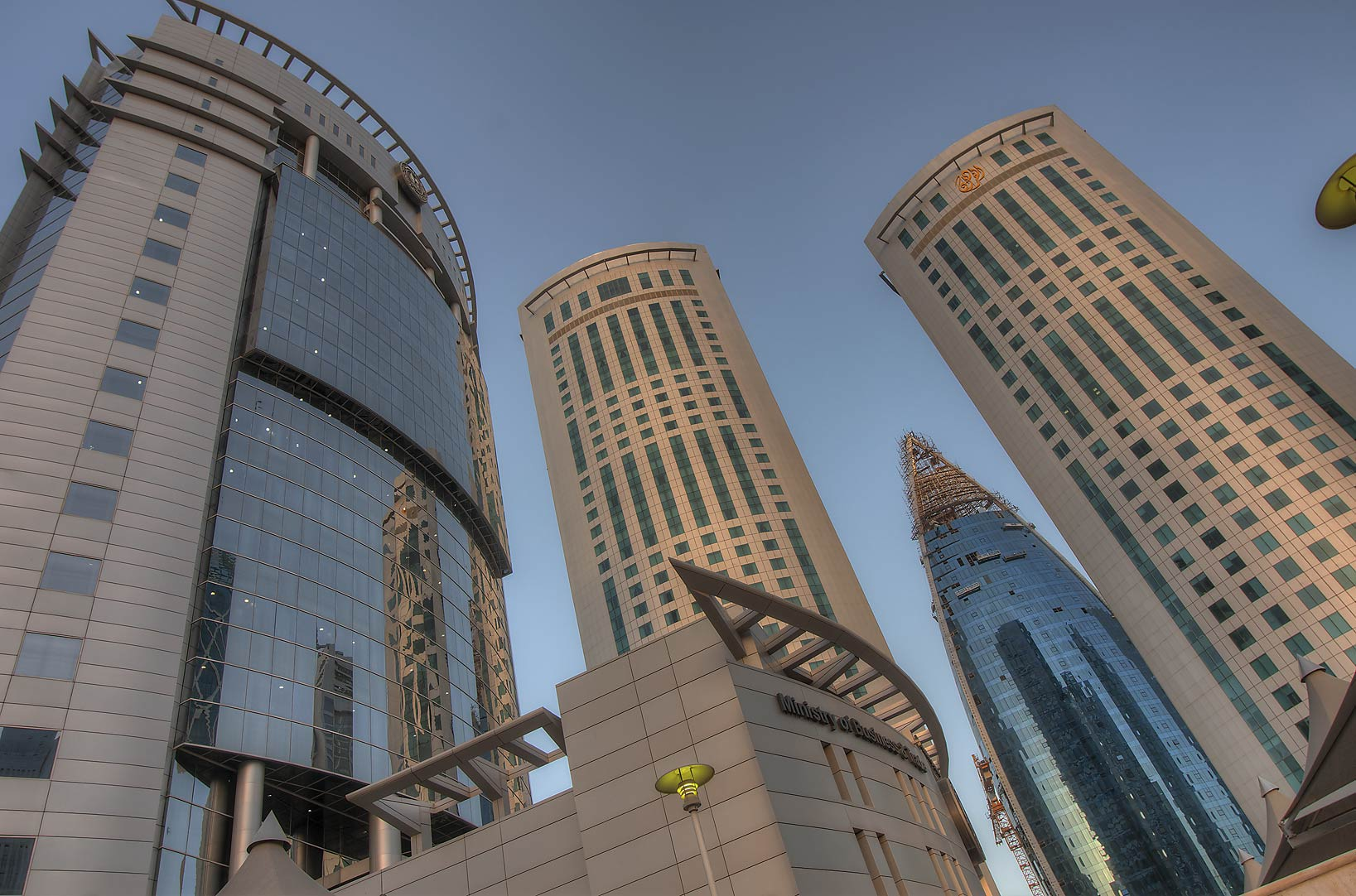 Ministry of Business and Trade in West Bay. Doha, Qatar