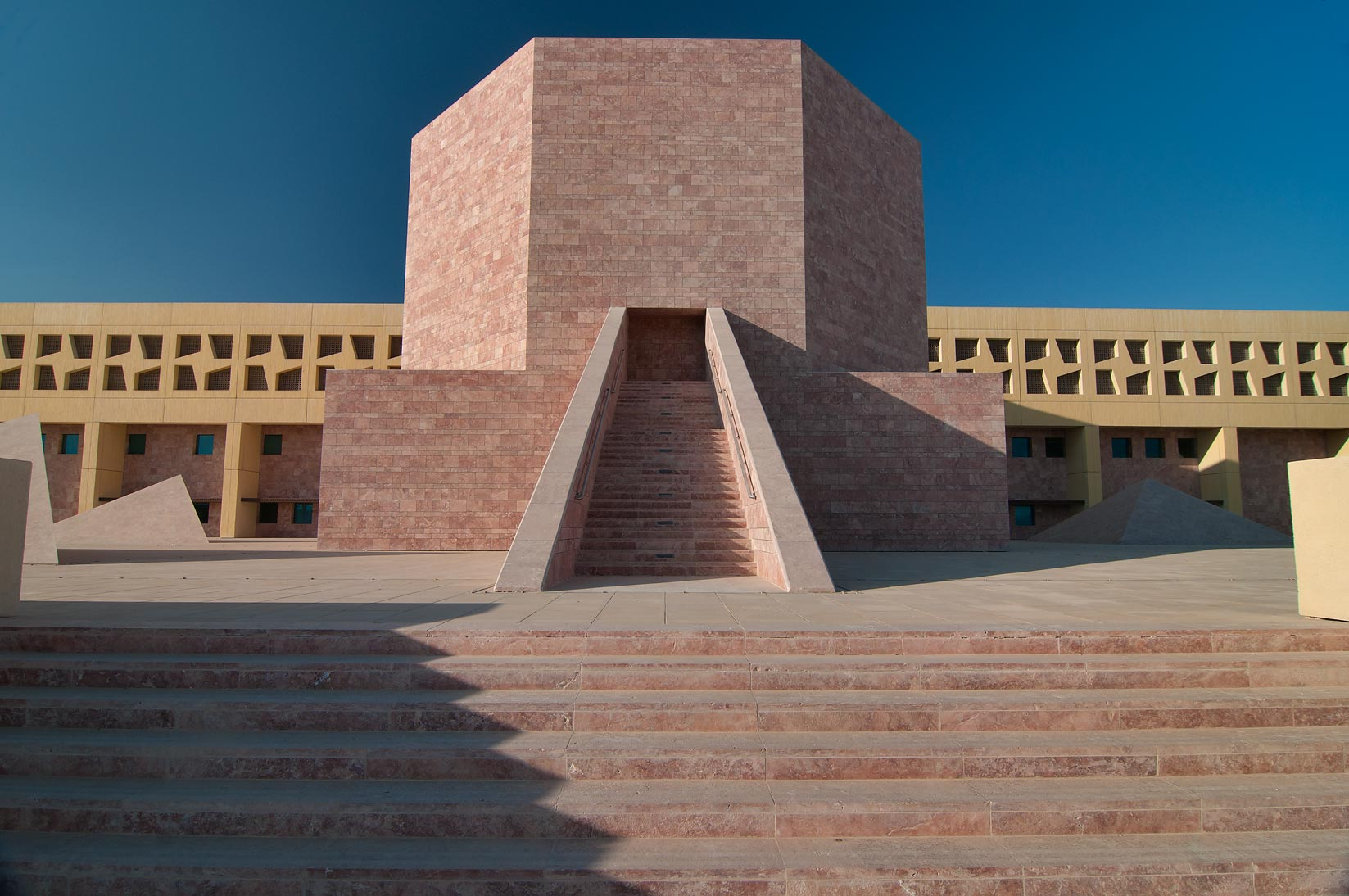 TAMUQ Main Lecture Hall 238 (Texas A&M...in Education City campus. Doha, Qatar