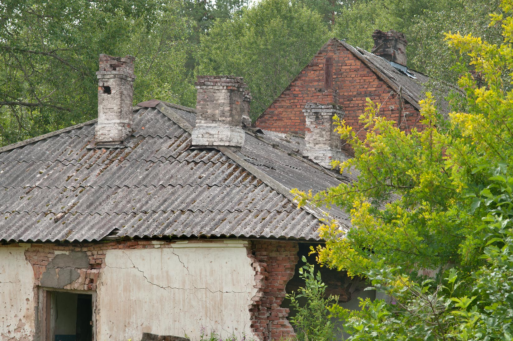 Abandoned village of Kirpichny Zavod (Brick...miles north from St.Petersburg. Russia
