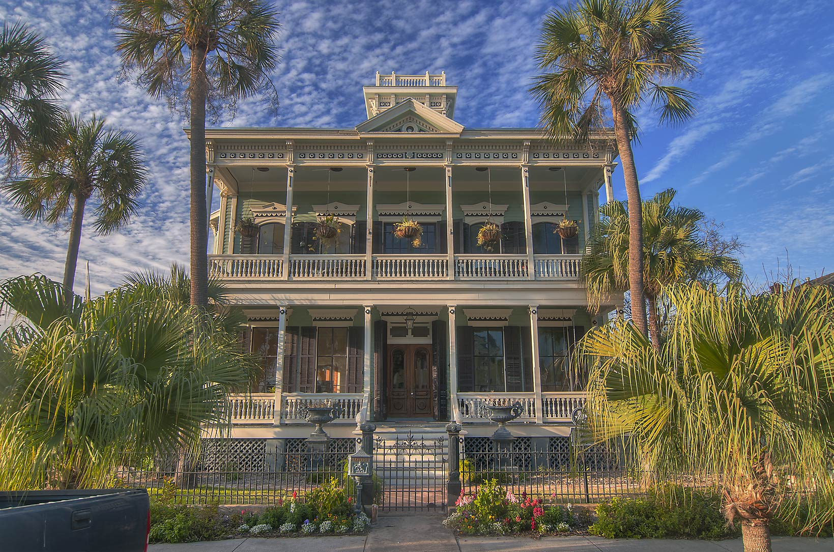 Julius H. Ruhl House (c. 1874) at 1428 Sealy St...Historic District. Galveston, Texas