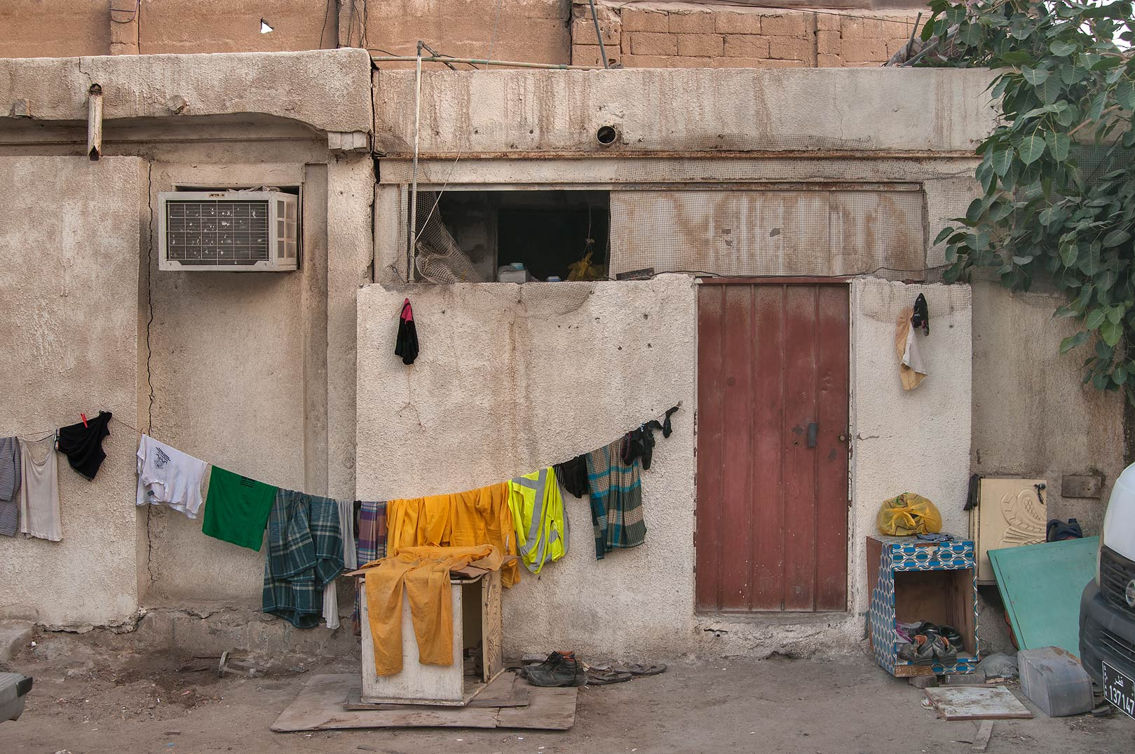 Laundry at Umm Wishah St., Musheirib area. Doha, Qatar