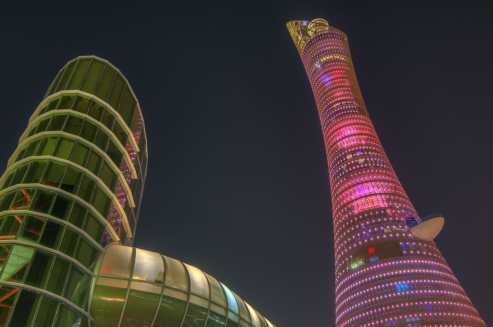 Doha, Aspire Zone-Musheirib, Qatar  - Passageway of Torch Hotel. Doha, Qatar