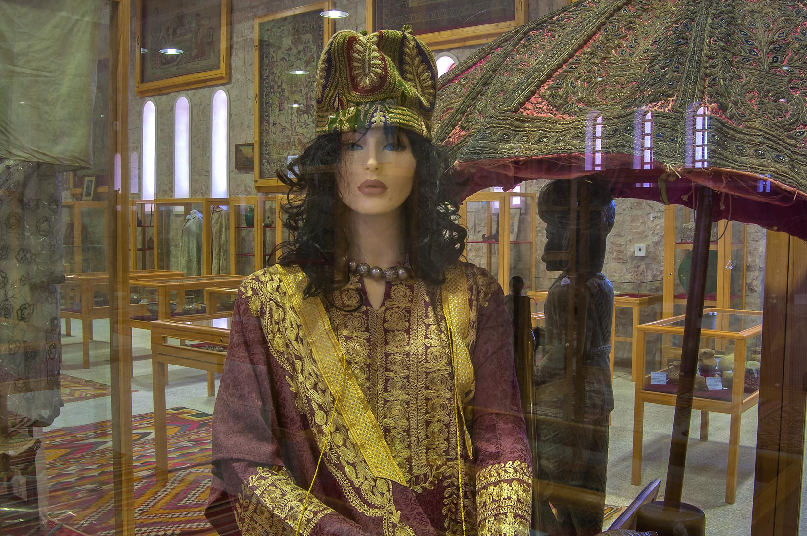 Reconstruction of a traditional harem in Sheikh...Museum near Al-Shahaniya. Doha, Qatar