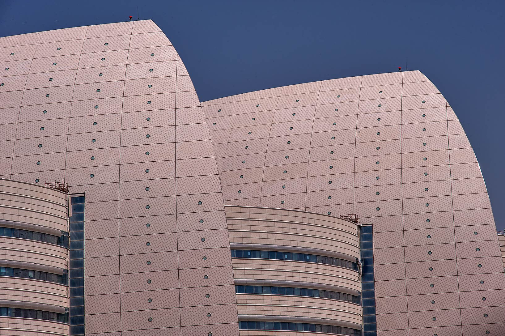 Panels of Sidra Medical and Research Center. Doha, Qatar