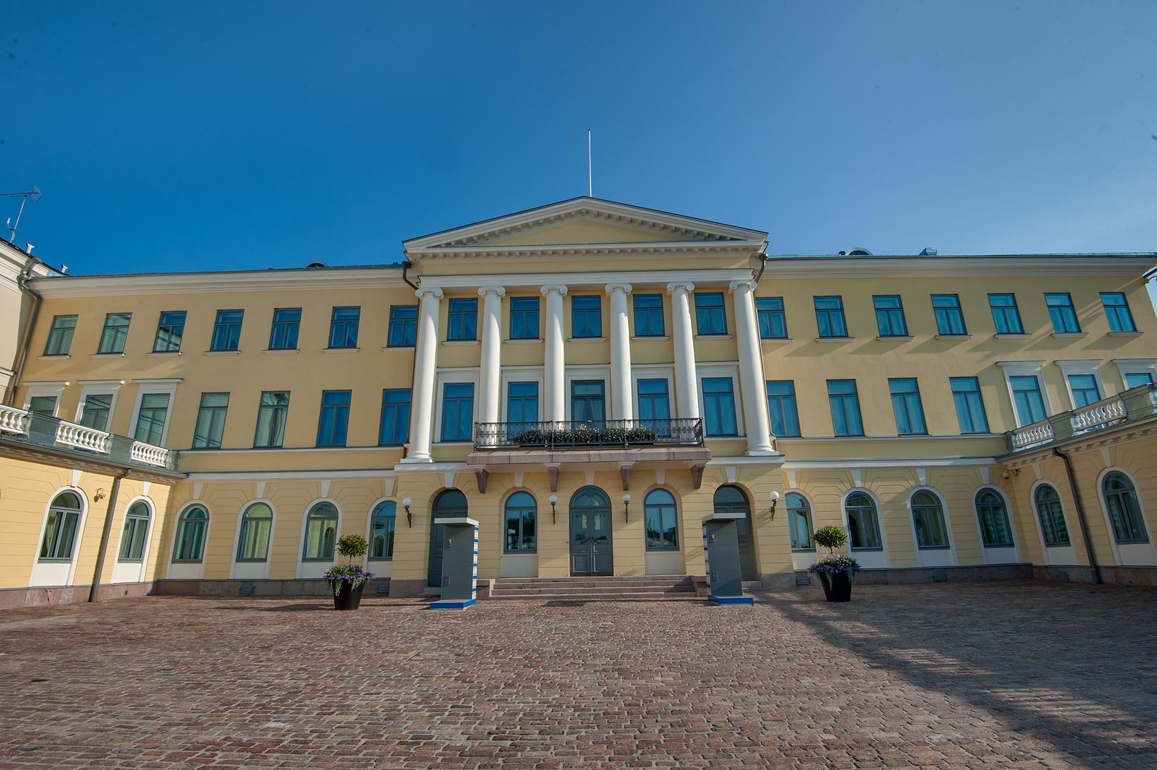 Presidential Palace (1845), a former residence of a Russian Tsar. Helsinki, Finland