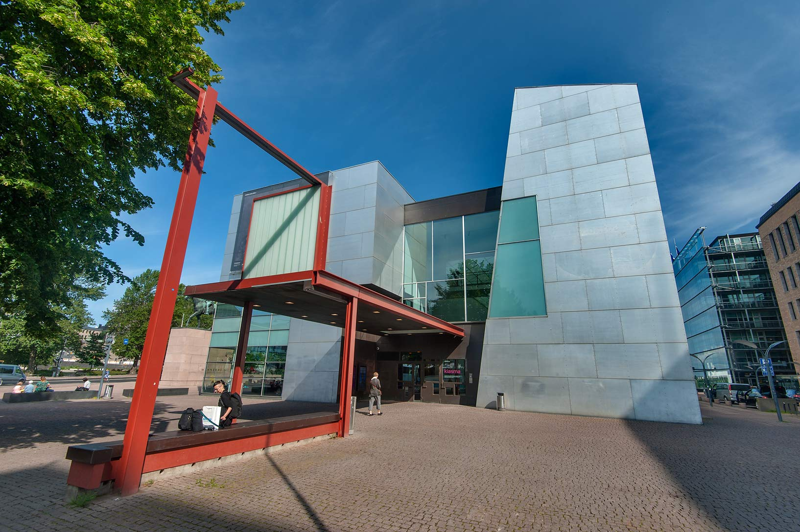 Museum of Contemporary Art Kiasma (built 1993-1998). Helsinki, Finland